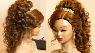 Incredible Wedding Prom Hairstyle For Long Hair Updo Tutorial Hairstyles For Women Draintrainus