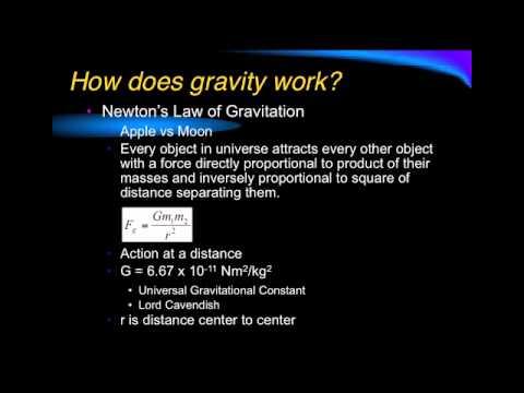 Gravitation Lecture