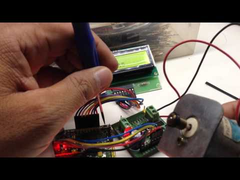 DC MOTOR SPEED AND DIRECTION CONTROLLER AUTO FORWARD AND REVERSE