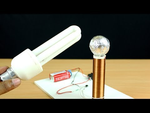 How to Make a Tesla Coil at Home | Wireless Power Transfer