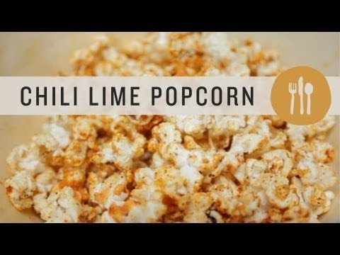 Superfoods - Chili Lime Popcorn