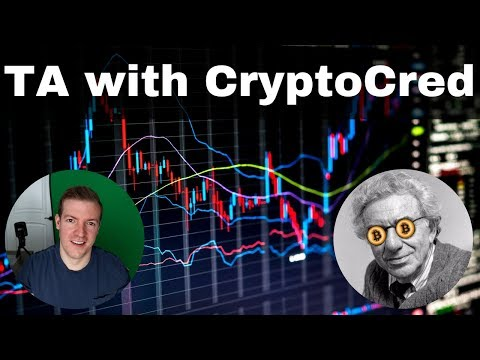 Crypto Technical Analysis with CryptoCred - His approach to Bitcoin TA