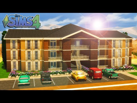 The Sims 4   House Building - Clarity Apartments