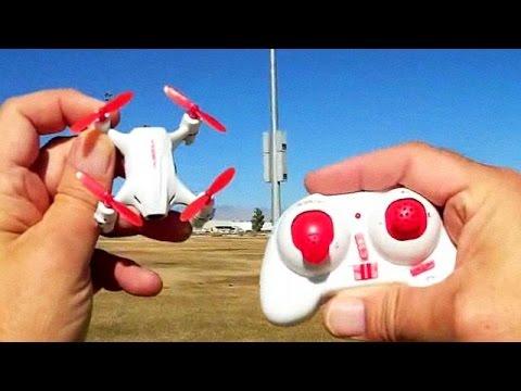 Hubsan Nano Q4 H002 Camera Drone Flight Test Review