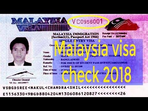 How To Malaysia Visa Check