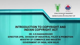 Introduction to Copyright and its Indian Copyright Act