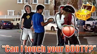 """""""Can I touch your BOOTY?"""" **PRANK**"""