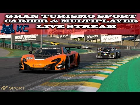 Gaming :Gran Turismo Sport (PS4) 🚗 Career & Online Multiplayer  (Live Stream🔴 15/06/2018)