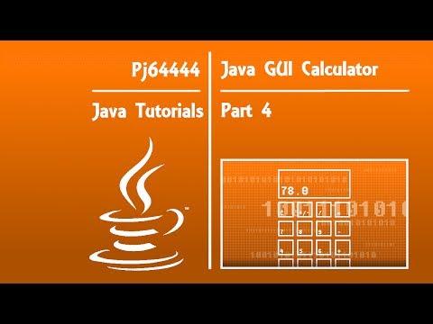 Java GUI Calculator Tutorial(OLD) - Part 4 of 4