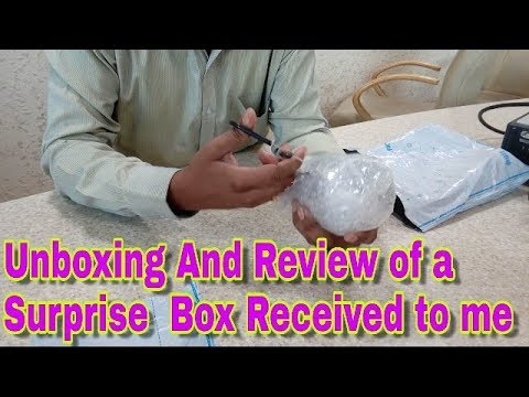 Unboxing And Review of a Surprise Package