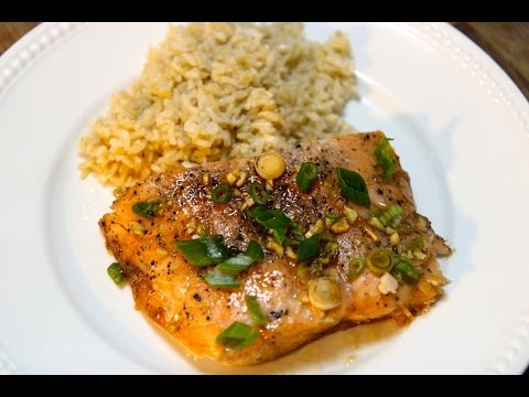 Honey Glazed Salmon - Cooked by Julie episode 265