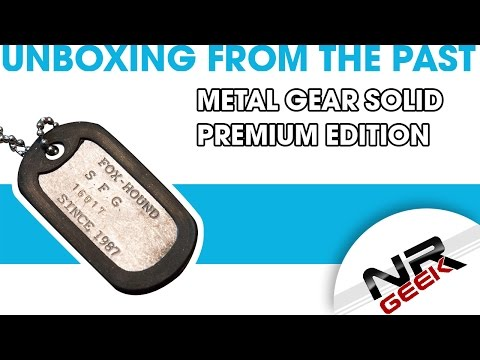 Metal Gear Solid - Premium Edition - Unboxing from the past (1080p, 60fps)