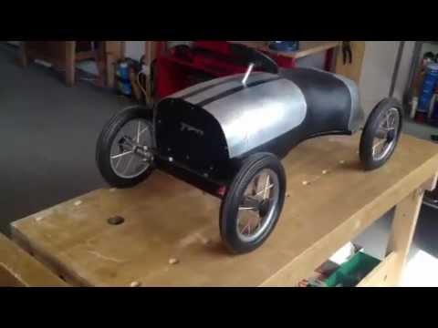 Pedal car homemade