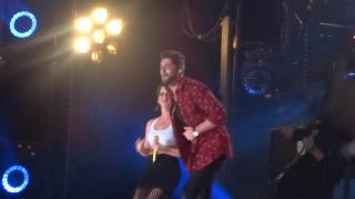 "Thomas Rhett and Maren Morris sing ""Craving You"" live at CMA Fest"
