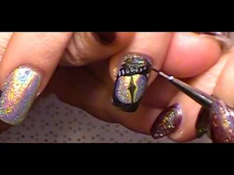 Dragon Nail Art by Freeda Latham