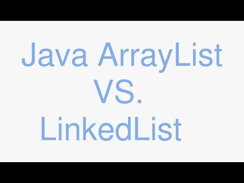 Java ArrayList vs LinkedList