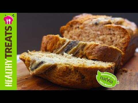 Easy Banana Bread Quick Mix - Natvia's Healthy Treats