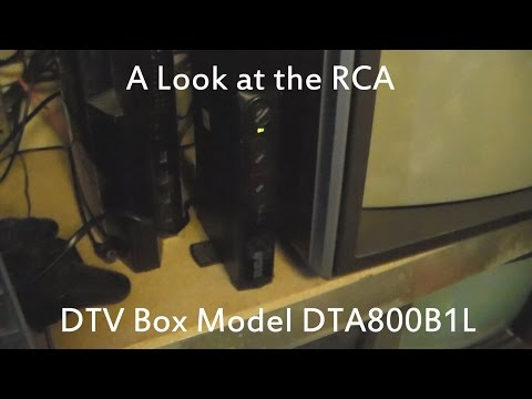 Eskie's Vlog 071815: A RCA DTV Box Model DTA800B1L