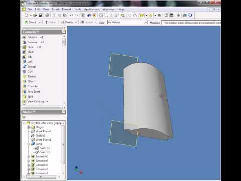 CNC kimber grip inventor.avi