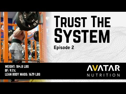 TRUST THE SYSTEM   Raw Powerlifting Nationals Prep Episode 2
