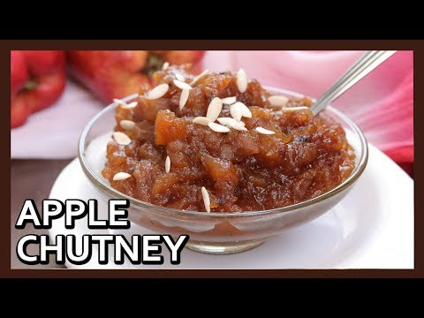 Apple Chutney Recipe | Spiced Apple Chutney by Healthy Kadai