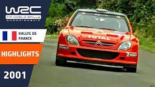WRC Highlights: Corsica 2001: 52 Minutes