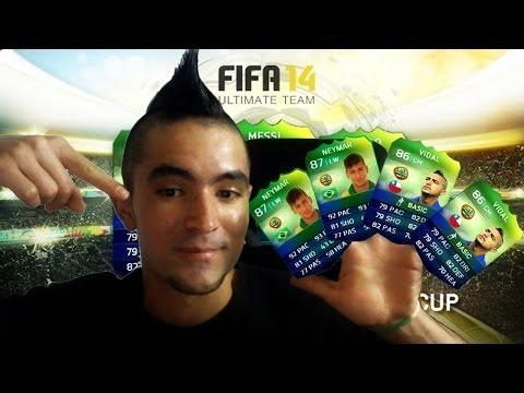 Fifa 14 World Cup Brasil | Día de Suerte | Pack Opening | Ultimate Team | PS4