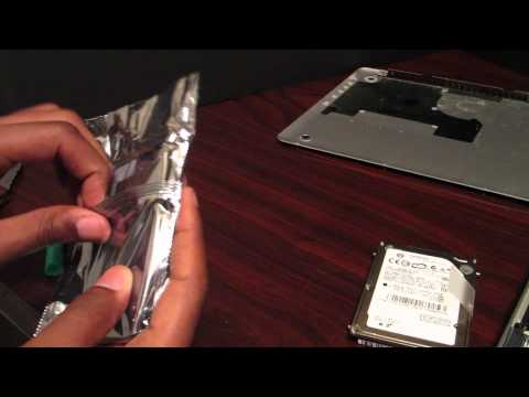 How to: Install a hard drive into a Macbook Pro 2011 (HD)
