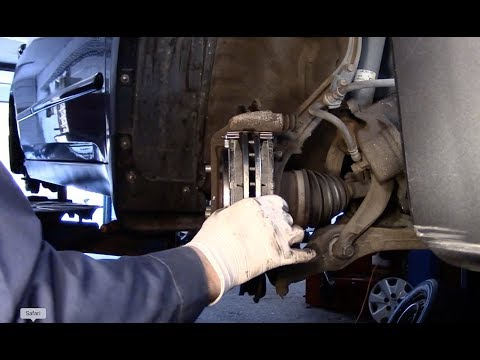 How To Replace Brakes And Rotors 2003 Honda Accord