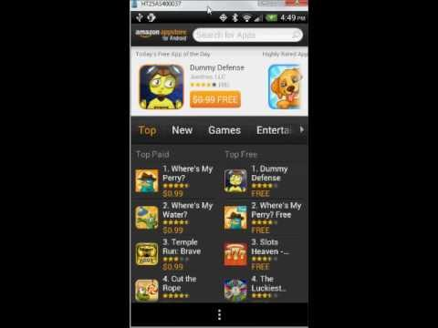 Amazon Appstore for Android App Tutorial and Review