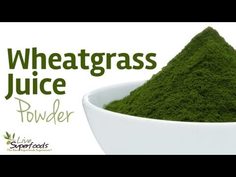 All About Wheatgrass Juice Powder - LiveSuperFoods.com