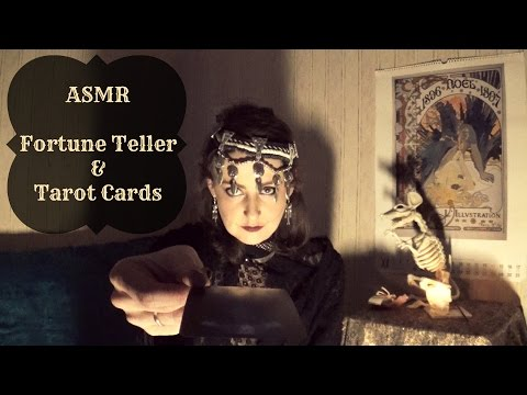 ASMR | Fortune Teller reads your Tarot Cards