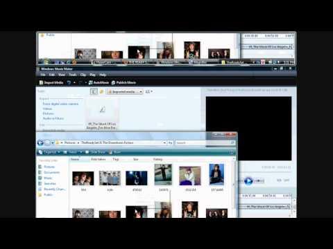 Windows Movie Maker Tutorial(for lyric videos) Part 1