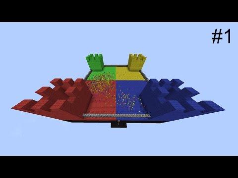 Minecraft SUPERSOLDIER CLAY SOLDIERS BATTLE! • Part 1