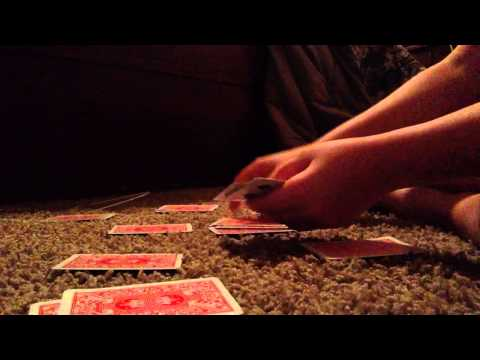 How to set up a play (Speed Card Game)