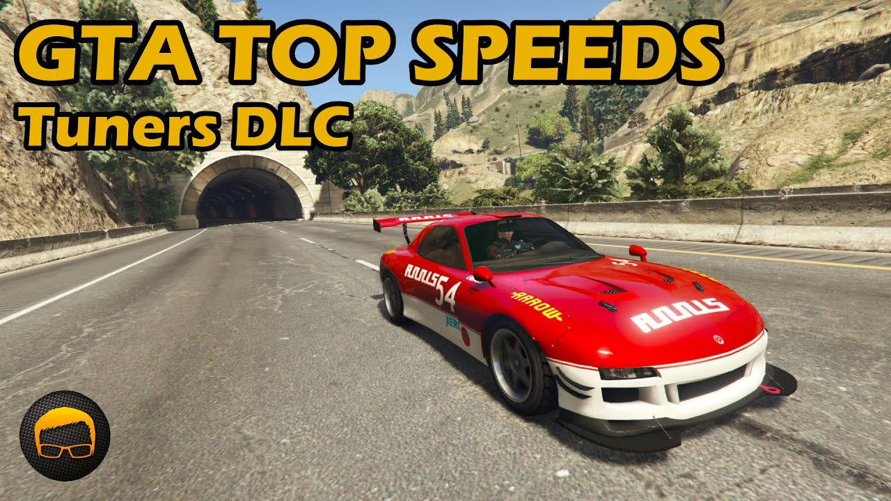Fastest Tuners DLC Cars - GTA 5 Best Fully Upgraded Cars Top Speed Countdown