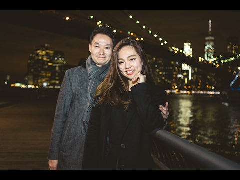 MOST ROMANTIC MARRIAGE PROPOSAL UNDER BROOKLYN BRIDGE