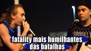 FATALITY MAIS HUMILHANTES DAS BATALHAS 🔴 HD