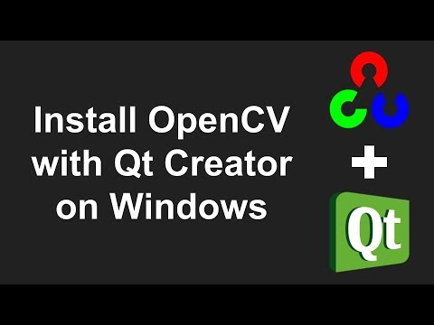Setting up OpenCV with Qt Creator on Windows (without CMake)
