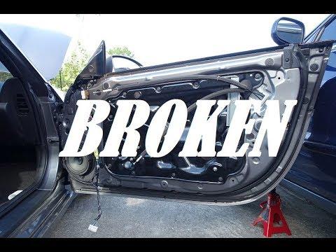 Nissan 350z Window Motor Replacement