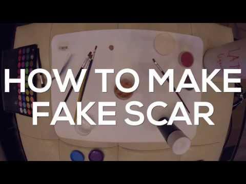 SRP SFX   HAW TO MAKE: FAKE SCAR / WOUND