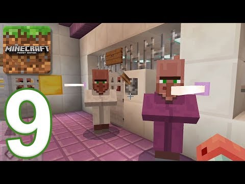 Minecraft: PE - Gameplay Walkthrough Part 9 - Prison Escape (iOS, Android)