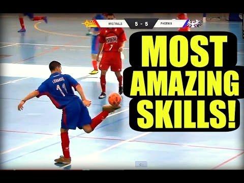 The BEST Street Football/Futsal/Freestyle Skills EVER!! ★ HD