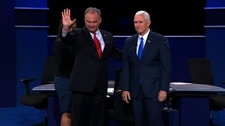 Entire Vice Presidential Debate Pence Vs Kaine Full De