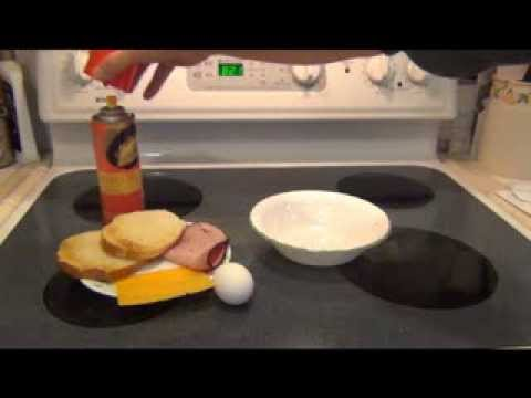 Egg Sandwich in Microwave - Easy Recipe