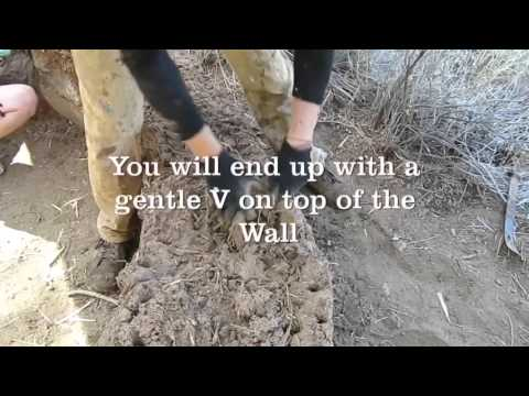 How to build a Cob wall