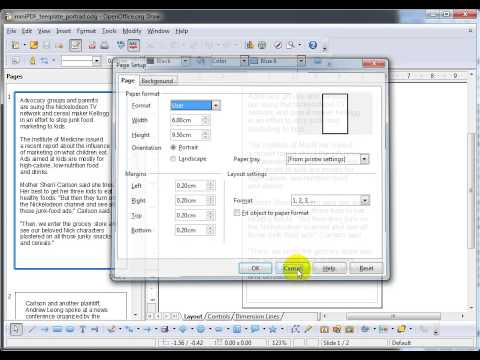 02 Open Office template for Audio PDF