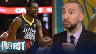 Nick Wright On When Kevin Durant Forfeited Being The Best Nba Player | Nba | First Things First