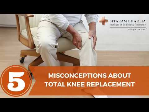 Knee Replacement Surgery : 5 Common Concerns Addressed