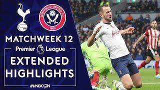 Tottenham v. Sheffield Utd | PREMIER LEAGUE HIGHLIGHTS | 11/09/19 | NBC Sports
